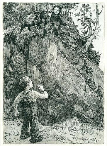 Bj. Bjornson, Scene From A Happy Boy (3) By Nicolai Astrup