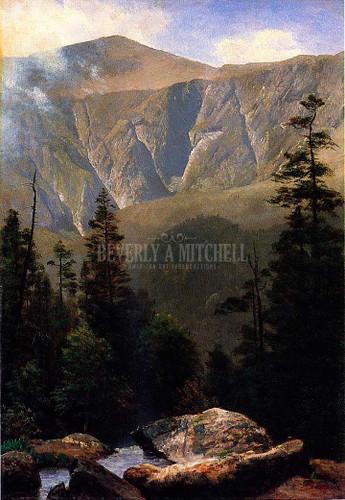 Mountainous Landscape by Albert Bierstadt
