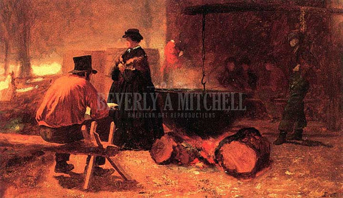 Sugar Camp by Eastman Johnson