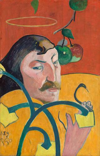 Self Portrait By Paul Gauguin