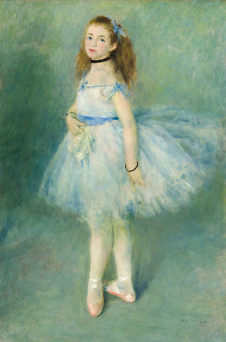 The Dancer By Auguste Renoir