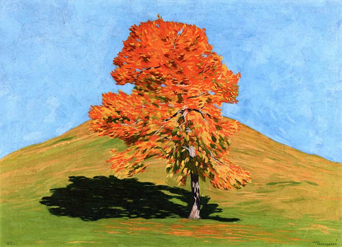Cherry Tree By Hans Emmenegger