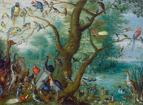Concert Of Birds By Circle Of Jan Van Kessel
