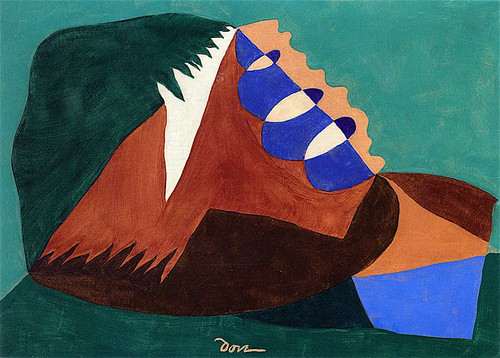 Departure From Three Points By Arthur Dove