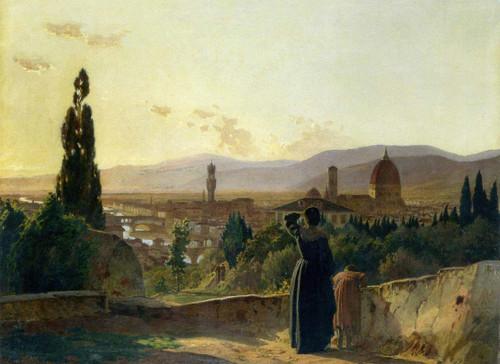 Florence By Nikolai Nikolaevich Ge