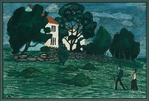 Home From Work By Nicolai Astrup