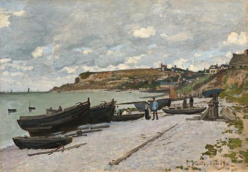 Sainte Adresse By Claude Monet