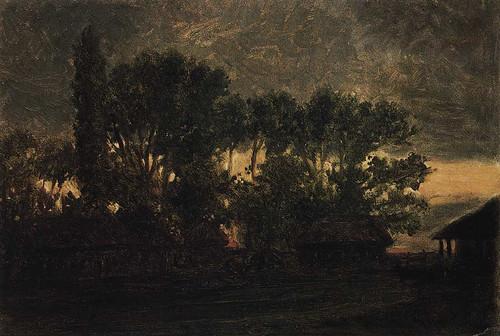 Sunrise By Nikolai Nikolaevich Ge