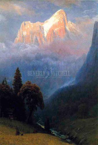 Storm Among The Alps by Albert Bierstadt
