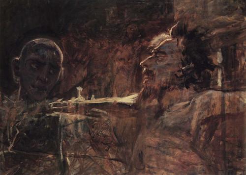 The Crucifixion (Study) By Nikolai Nikolaevich Ge