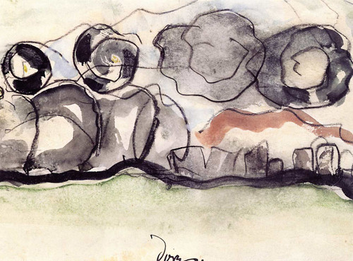 Untitled (Also Known As Landscape) By Arthur Dove