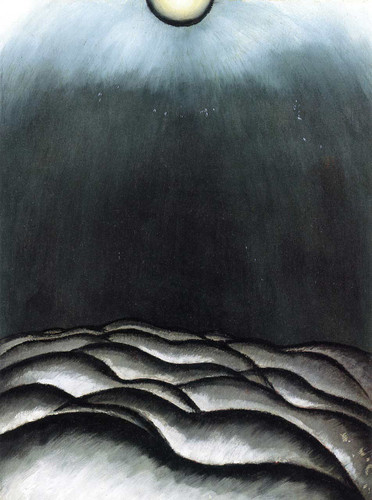 After The Storm, Silver And Green (Vault Sky) By Arthur Dove