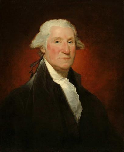 George Washington (Vaughan Portrait) By Gilbert Stuart