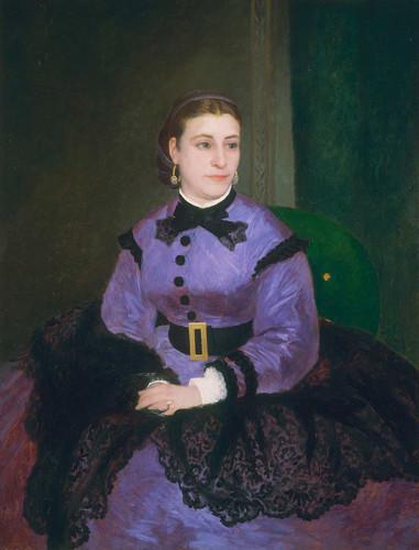 Mademoiselle Sicot By Auguste Renoir