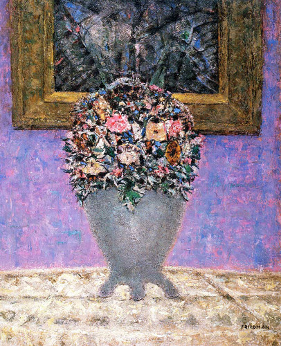 Still Life (Also Known As Petunias) By Arnold Friedman