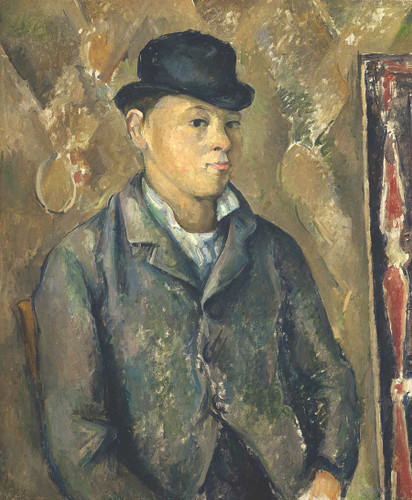 The Artist's Son, Paul By Paul Cezanne
