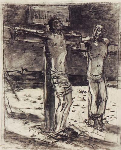 The Crucifixion 1 By Nikolai Nikolaevich Ge
