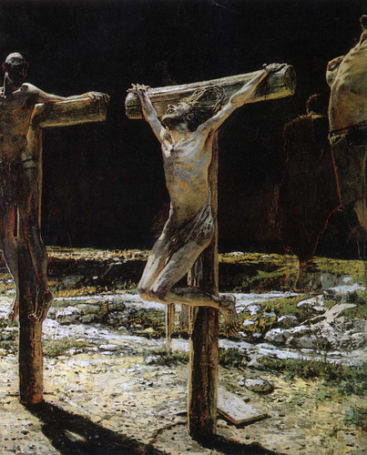 The Crucifixion By Nikolai Nikolaevich Ge
