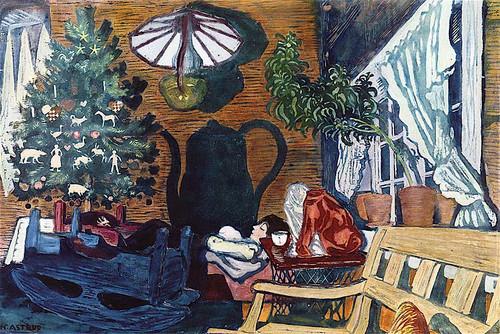 Christmas Eve And Sandalstrand By Nicolai Astrup