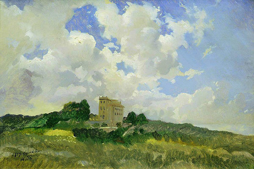 Clouds By Nikolai Nikolaevich Ge