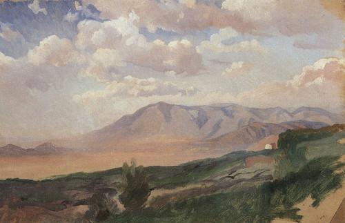 Mountains In Vico By Nikolai Nikolaevich Ge