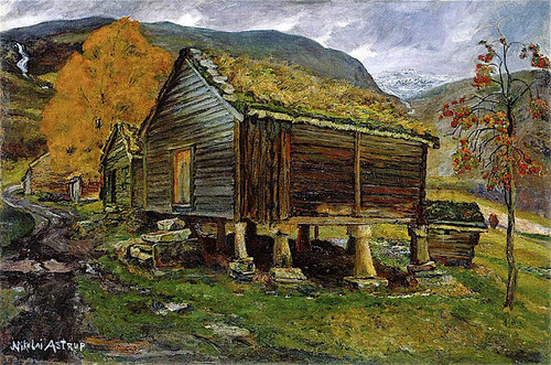 Storehouse In Jolster By Nicolai Astrup