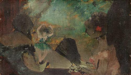 The Loge By Edgar Degas