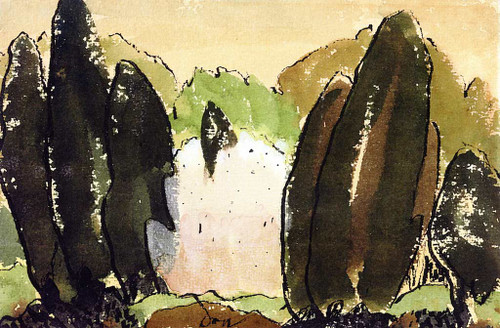 Untitled (Also Known As Centerport) By Arthur Dove