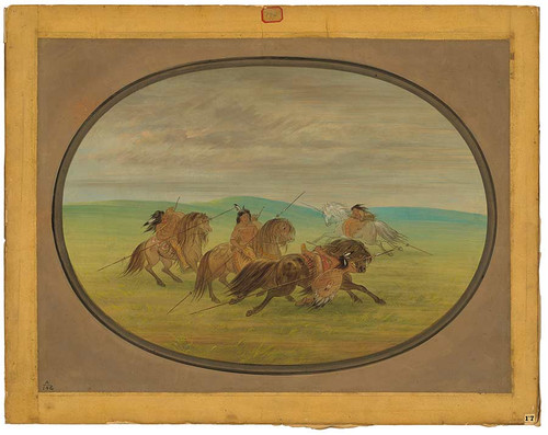 Camanchee Horsemanship By George Catlin