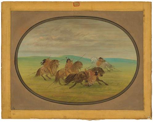 Camanchee Horsemanship By George Catlin