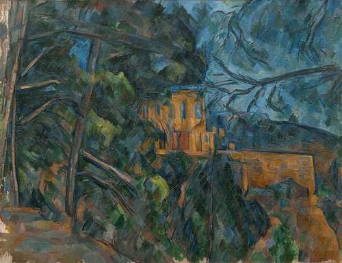 Chateau Noir By Paul Cezanne