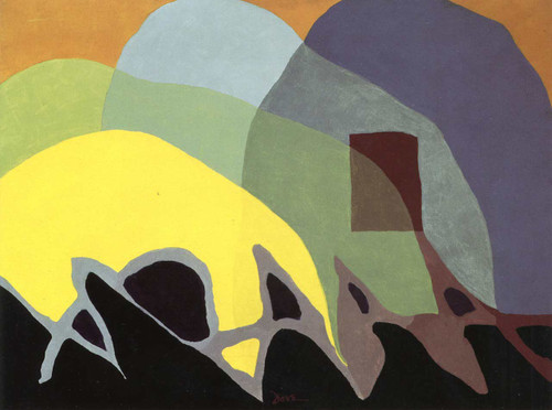 Dancing Willows By Arthur Dove