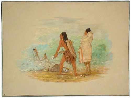 Flathead Indians By George Catlin