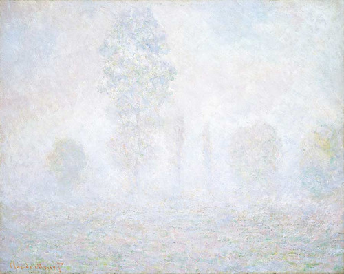 Morning Haze By Claude Monet