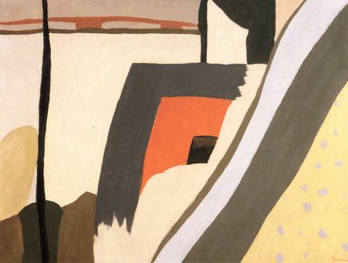 Sand Barge By Arthur Dove