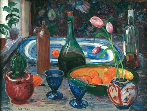 Sketch For Still Life By Nicolai Astrup