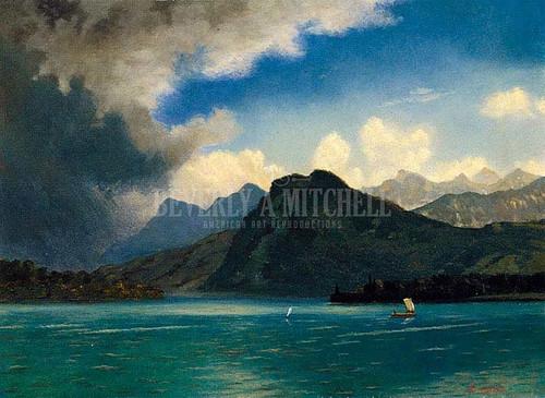 Approaching Storm by Albert Bierstadt
