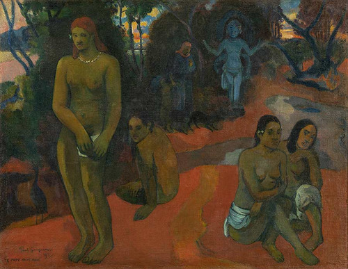 Te Pape Nave Nave (Delectable Waters) By Paul Gauguin