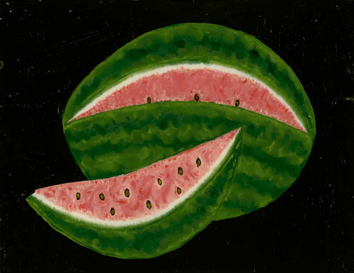 Watermelon By American 19th Century