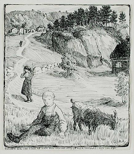 Bj. Bjornson  Scene From A Happy Boy By Nicolai Astrup