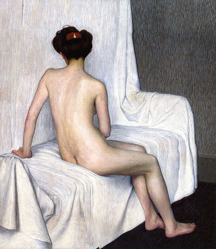 Female Nude By Hans Emmenegger