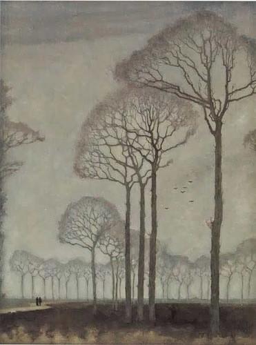 Trees By Jan Mankes