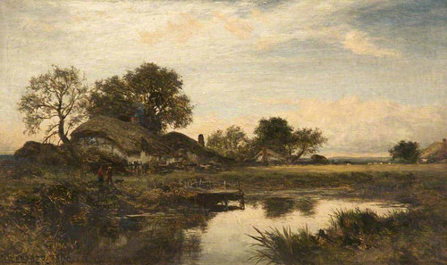 English Cottage Homes By Benjamin Williams Leader