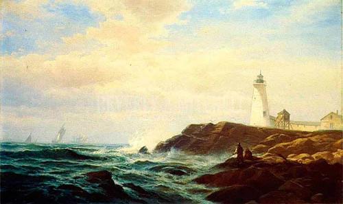 Eastern Point Gloucester by Edward Moran