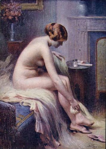 Beautiful Nude Woman By Delphin Enjolras