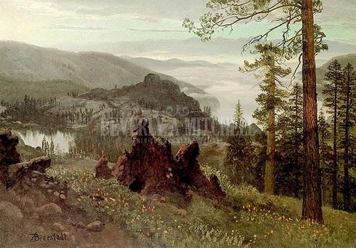 Division Lake California by Albert Bierstadt