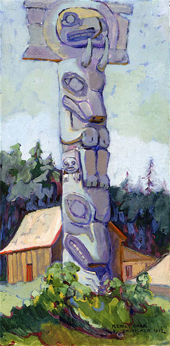 Skidegate 2 By Emily Carr