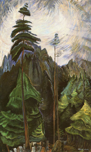 Mountain Forest By Emily Carr
