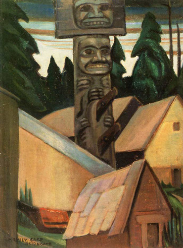 Skidegate 3 By Emily Carr
