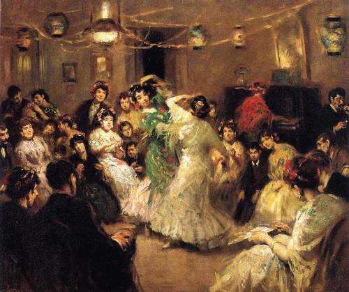 A Family Party Triana Sevilla By Francis Luis Mora